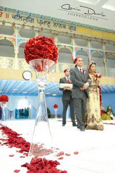 wedding decor gurdwara - Google Search