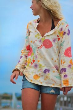 Shearwater Kaftan - this would be so pretty in linen, or a lovely lawn!
