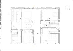 Reforma interior de vivienda en Barcelona,Planta Barcelona, Floor Plans, Diagram, How To Plan, Refurbishment, Drawings, Model, Interiors, Architecture