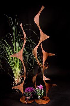 Free Standing Garden Sculptures « Phil Beck Metal Art