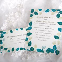 Eco-friendly Wedding Invitations [ING063]