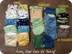 The Dish on Diapers - What Were We Thinking?