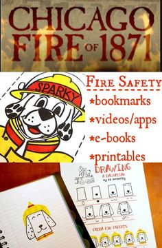 """This """"F"""" is for Fire Safety activity for kids is the perfect October lesson to add to your list! PLUS Firefighter fun facts & FREE Resources from Sparky! Preschool At Home, Preschool Crafts, Kids Crafts, Sparky The Fire Dog, Fun Crafts To Do, Fire Prevention, Fire Safety, Activity Centers, Lessons For Kids"""