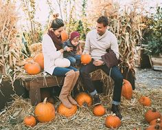 "Beckam would try to pick up every pumpkin accompanied by a grunt if it was too big or ""ohhhh"" if… Fall Baby Pictures, Fall Family Photos, Holiday Pictures, Fall Photos, Fall Pics, Autumn Pictures, Halloween Pictures, Family Holiday, Hello Fashion Blog"