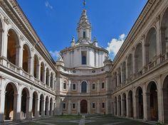 Sant'Ivo Della Spienza. Rome. Boromini