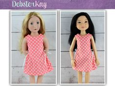 Love U Bunches Party Dress - Doll clothes to fit A Girl For All Time and BFC Ink dolls by Debsterkay on Etsy https://www.etsy.com/listing/269945589/love-u-bunches-party-dress-doll-clothes