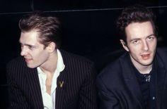 Joe Strummer and Paul Simonon - The Clash.