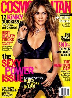 Jennifer Lopez - Cosmopolitan Magazine Cover [United States] (October 2013)