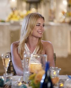Emily VanCamp as Emily Thorne on Revenge. This is one of my favorite shows.