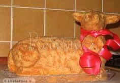 Šlehačkový beránek Ham, Food And Drink, Cheese, Chicken, Brownies, Cake Brownies, Hams, Cubs