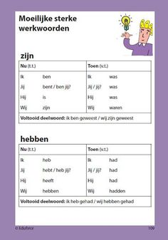 Nederlands leren - Learning Dutch Learn Dutch, Learn French, Speech Language Therapy, Speech And Language, Les Adjectifs Possessifs, Dutch Words, Dutch Language, Teacher Inspiration, Language Lessons