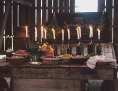 a daily something: Gatherings | A Supper for Mornings Like These