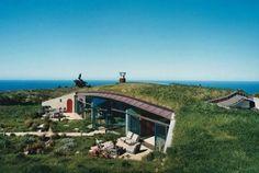 Modern, sustainable underground home