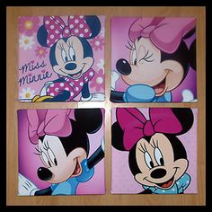 Minnie Mouse Canvas Prints