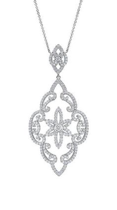 18k White Gold Allure Fashion Necklace