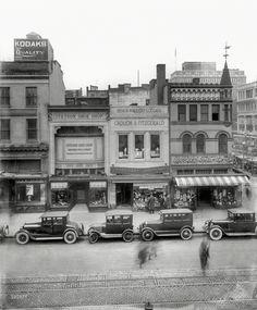 Sport Mart, 1303 F Street NW, Washington DC, 1922
