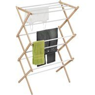 Home Wooden Drying Rack Drying Rack Laundry Wooden Clothes