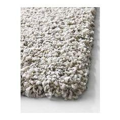 ALHEDE Tæppe, lang luv, råhvid - råhvid - 160x240 cm - IKEA
