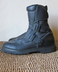 Sidi Champion Tepor Motorcycle Boots EU 41 by ShoeMeTheVintage, $109.99