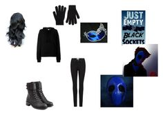 """""""Girl eyeless jack"""" by janista11 on Polyvore featuring IRO, Paige Denim, Philosophy di Lorenzo Serafini, Masquerade and Accessorize"""