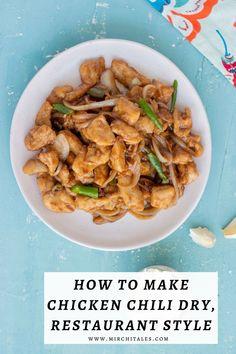 Chicken Chili Dry | Indo Chinese Chili Chicken Recipe | Mirchi Tales