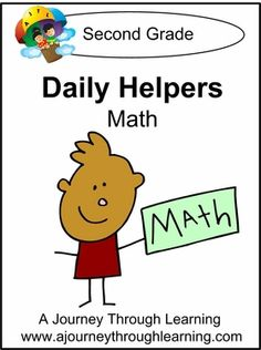 Daily Helpers Lapbook-Math Grade 2