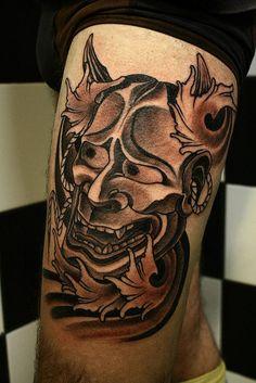 Semana Oriental: 60 Tatuagens de Máscaras de Hannya