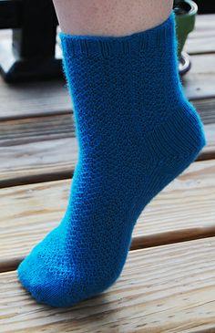 Smoky Mountain Toe Up Sock by Saundra McBride