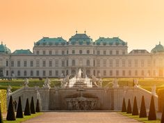 Vienna one of the world's best cities for arts and culture. While there, stay at the Sacher Hotel (ask for a room overlooking the Opera House) and be sure to order their famous Sacher Torte—don't forget to request mit shlaag (with cream). Bergen, Best Cities In Europe, Central Europe, Paris, Places To See, Travel Destinations, Travel Europe, Backpacking Europe, Nature