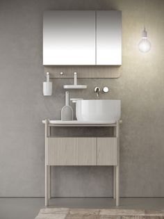 Countertop round ceramic washbasin with overflow Ukiyo-e Collection by @olympiaceramica