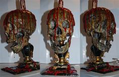 Awesome Project! Bloody skull Candle lamp tutorial!!    Remember to check out our halloween store http://deals.dreadcentral.com