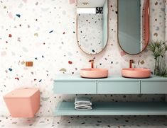 If you think terrazzo only belongs on the floors of ancient churches or elementary school hallways, think again. This dated trend is making a comeback.