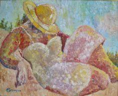 Gorgeous work by French artist Marie-Helene Mouyon http://www.whitecourtart.com/marie-helene-mouyon/summer-days