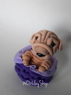 "Are you looking for a topper that features your favourite animal? This eye-catching and original Shar pei cake topper will give your cake a quirky wow factor with this cute. So really there' s no excuse not to have it, right? Beautiful decoration on your dog birthday cake or figurine for collectors...it is a perfect keepsake gift. Material: High quality and special non-toxic polymer clay. They last a lifetime. Dimensions: 1,9"" x 2,3"" (5 x 6 cm) Dog Cake Topper, Cake Toppers, Dog Birthday, Birthday Cake, Beautiful Decoration, Shar Pei, Your Favorite, Your Dog, Polymer Clay"