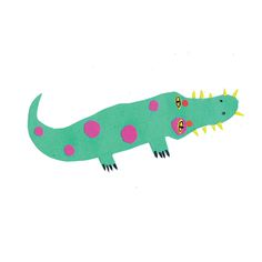 ALOJZY THE CROCODILE FROM GDAŃSK - agata królak - design and illustration for children of all ages