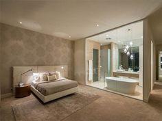 Open Plan Ensuite Bathroom Designs – open plan ensuite bathroom designs with val… - Modern Hotels Design, Bathroom Interior, Awesome Bedrooms, Bedroom Hotel, Home, Ensuite Bathroom Designs, Amazing Bedroom Designs, Brick Interior, Bedroom Design