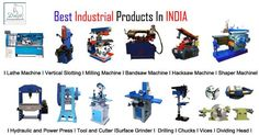 All types of metalworking machines