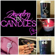 Jewelry in Candles Reveals
