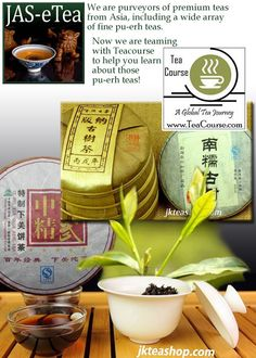 Our Puerh Tea Introduction article is now on http://www.teacourse.com/ with more to follow. We will be sharing a series of more advanced Puerh educational pieces monthly. (Tea Course is online education for tea enthusiasts and tea professionals and is produced by The Tea House Times with assistance from Tea Bureau and Tea Speakers Bureau members and other tea industry experts.)