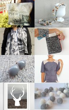 Grey Gift by carole on Etsy--Pinned with TreasuryPin.com