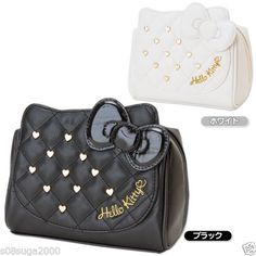 Hello Kitty Pouch Studs Makeup Cosmetic Bag Case Sanrio From Japan Gift ebbe5b0f1a8d1