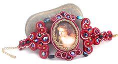 Victorian jewelry  bracelet vintage inspired  by Mouna Marini of Beads of Aquarius