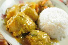 Cuisine des #Seychelles : poulet au curry !