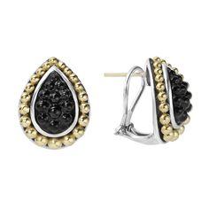 Onyx | Caviar Earrings | Black Caviar | LAGOS Jewelry #loveLAGOS #StackWithBlack