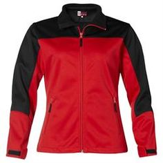 Branded US Basic Attica Soft Shell Jacket - Ladies' Corporate Outfits, Corporate Gifts, Promotional Clothing, Shells, Jackets For Women, Winter Jackets, Lady, Model, Clothes