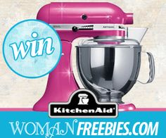 Win a KitchenAid Stand Mixer – Facebook Sweepstakes!