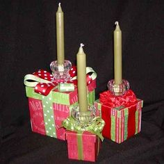 Christmas Table Decorations - Boxes