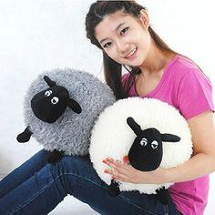 Stylish Soft Stuffed Sheep Plush Pillow Sofa Home Cushion Kid's Baby Toys Gift Sheep Crafts, Bunny Crafts, Plush Dolls, Doll Toys, Shaun The Sheep, Sewing Toys, Stuffed Animal Patterns, Handmade Toys, Baby Toys