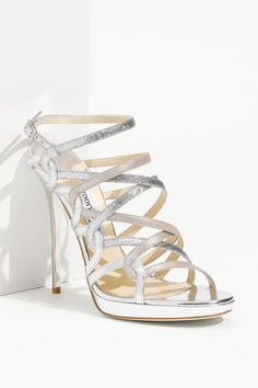 b0a694b3eebb1 Jimmy Choo  Dart  Strappy Sandals - just need the right occasion.