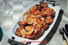 In de oven geroosterde kip met aardpeer, citroen en basilicum #recept